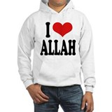 I Love Allah Jumper Hoody