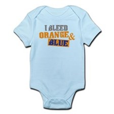 Bleed Orange Blue Infant Bodysuit