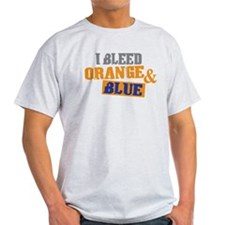 Bleed Orange Blue T-Shirt
