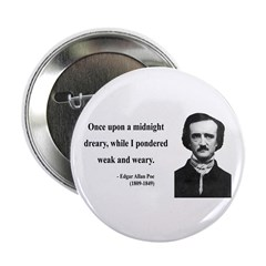 "Edgar Allan Poe 14 2.25"" Button (10 pack)"