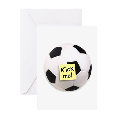 Kick me! - Greeting Card