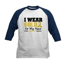 I Wear Gold Niece Tee