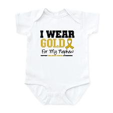 I Wear Gold Nephew Infant Bodysuit
