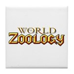 World of Zoology Tile Coaster