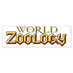World of Zoology Bumper Sticker