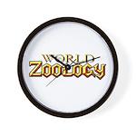 World of Zoology Wall Clock