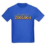 World of Zoology Kids Dark T-Shirt