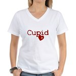 cupid Women's V-Neck T-Shirt