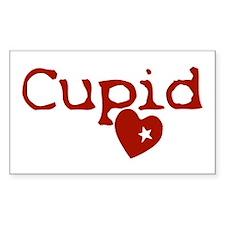 cupid Sticker (Rectangle 10 pk)