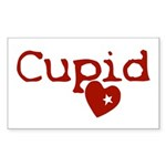 cupid Sticker (Rectangle 10 pk)