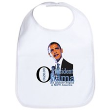 President Obama The Journey Bib