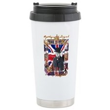 Winston Churchill Ceramic Travel Mug