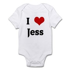 I Love Jess Infant Bodysuit