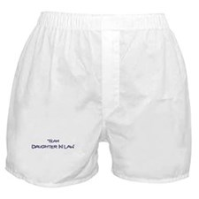 Team Daughter In Law Boxer Shorts