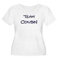 Team Cousin Women's Plus Size Scoop Neck T-Shirt