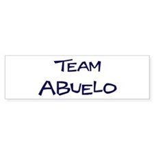 Team Abuelo Bumper Sticker (50 pk)