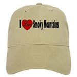 I Love Smoky Mountains Cap