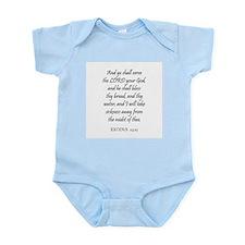 EXODUS  23:25 Infant Creeper