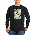 Confetti Long Sleeve Dark T-Shirt