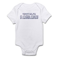 Trust Me I Am Bahraini Infant Bodysuit