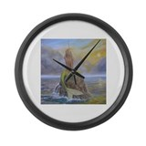 Mermaid Large Wall Clock