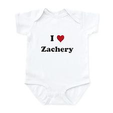 I love Zachery Infant Bodysuit
