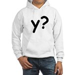 Y? Why? Hooded Sweatshirt