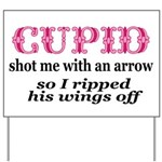 Cupid-Wings Yard Sign