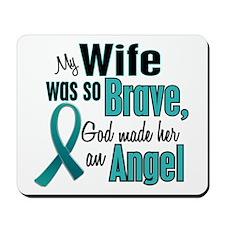 Angel 1 TEAL (Wife) Mousepad
