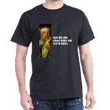 Keats &quot;Writ in Water&quot; T-Shirt
