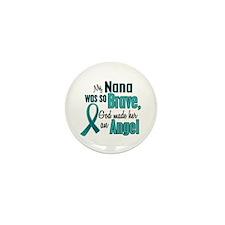 Angel 1 TEAL (Nana) Mini Button (10 pack)