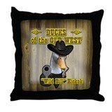 Ducks... Throw Pillow