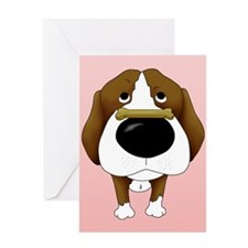 Beagle Valentine's Day Greeting Card