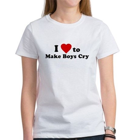 I Love [Heart] to Make Boys C Womens T-Shirt