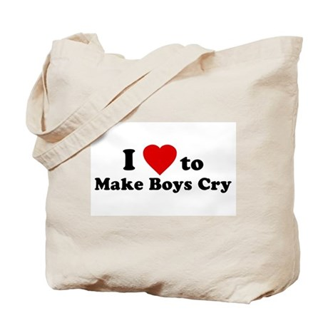 I Love [Heart] to Make Boys C Tote Bag