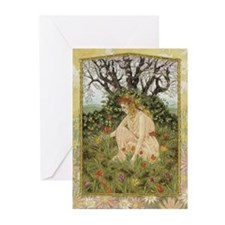 Maia blank greeting cards (Pk of 10)