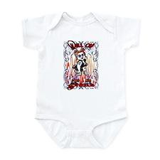 hell on wheels Infant Bodysuit