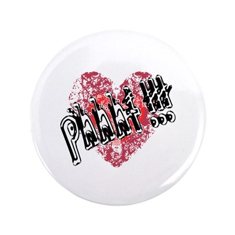 "'Valentines Love - Phhht !!! 3.5"" Button"