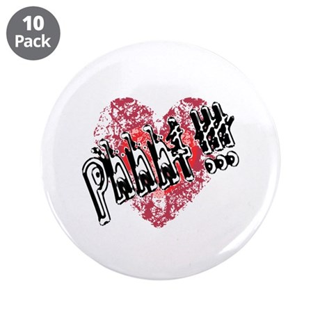 "'Valentines Love - Phhht !!! 3.5"" Button (10 pack)"
