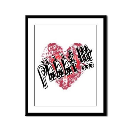 'Valentines Love - Phhht !!! Framed Panel Print