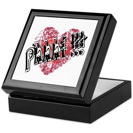 'Valentines Love - Phhht !!! Keepsake Box