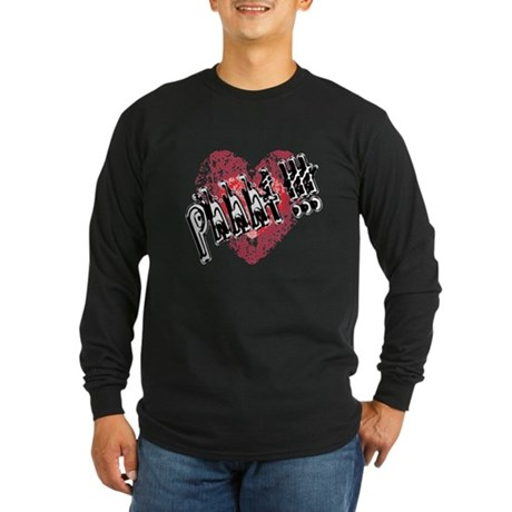'Valentines Love - Phhht !!! Long Sleeve Dark T-Sh