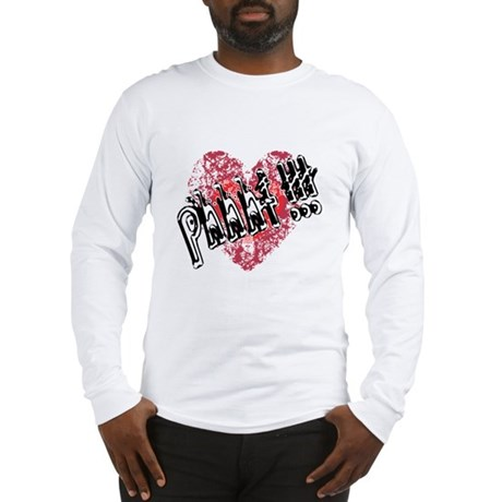 'Valentines Love - Phhht !!! Long Sleeve T-Shirt