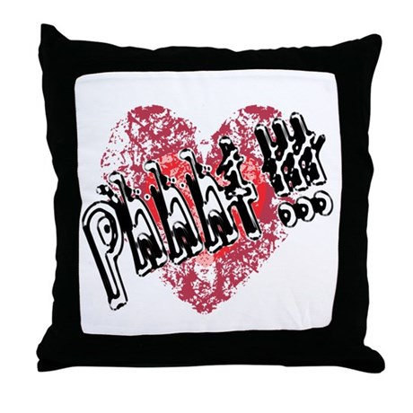 'Valentines Love - Phhht !!! Throw Pillow