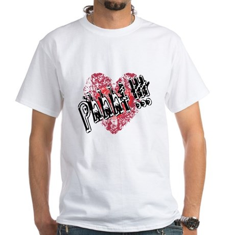 'Valentines Love - Phhht !!! White T-Shirt