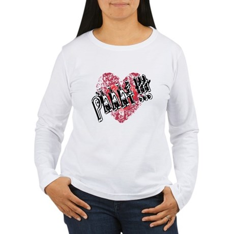 'Valentines Love - Phhht !!! Women's Long Sleeve T