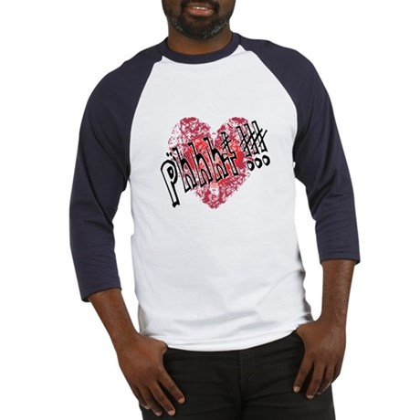 'Valentines Love - Phhht !!! Baseball Jersey