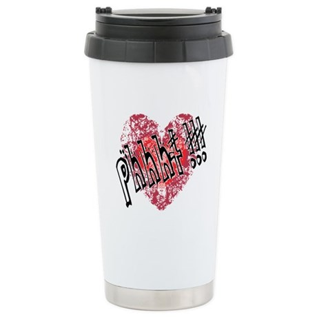 'Valentines Love - Phhht !!! Ceramic Travel Mug