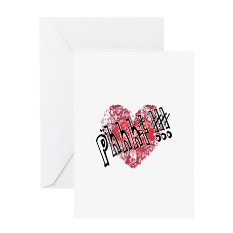 'Valentines Love - Phhht !!! Greeting Card