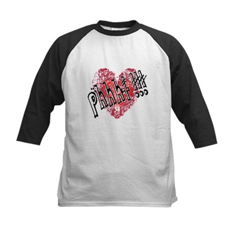 'Valentines Love - Phhht !!! Kids Baseball Jersey